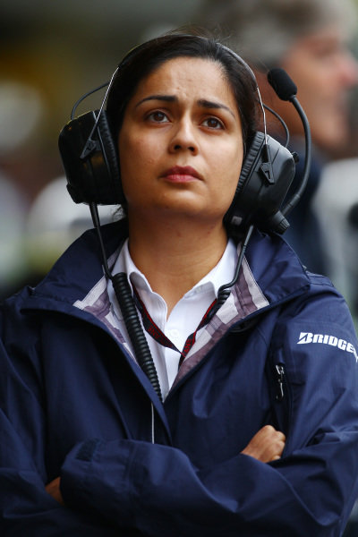 Monisha Kaltenborn (AUT) BMW Sauber Managing Director
