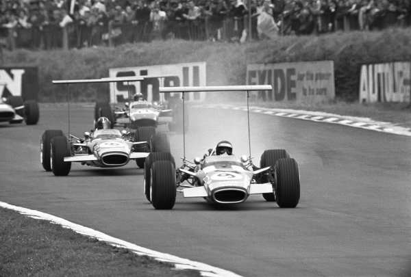 Brands Hatch, Great Britain. 20th July 1968.