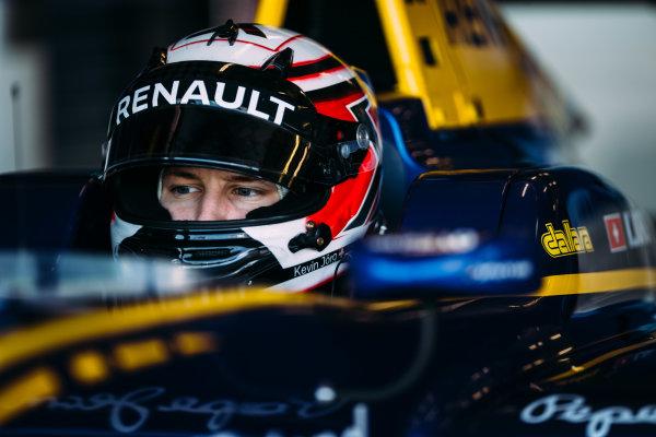 2016 GP3 Series Testing. Estoril, Portugal. Thursday 24 March 2016. Kevin Joerg (SUI) DAMS  World Copyright: Malcolm Griffiths/LAT Photographic. ref: Digital Image F80P4871