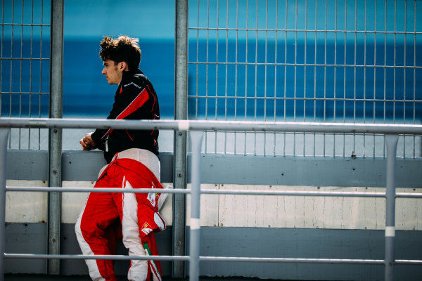 2016 GP3 Series Testing. Estoril, Portugal. Tuesday 21 March 2016. Charles Leclerc (MON) ART Grand Prix   World Copyright: Malcolm Griffiths/LAT Photographic. ref: Digital Image F80P0264