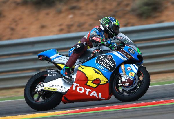 2017 Moto2 Championship - Round 14 Aragon, Spain. Friday 22 September 2017 Franco Morbidelli, Marc VDS World Copyright: Gold and Goose / LAT Images ref: Digital Image 693613