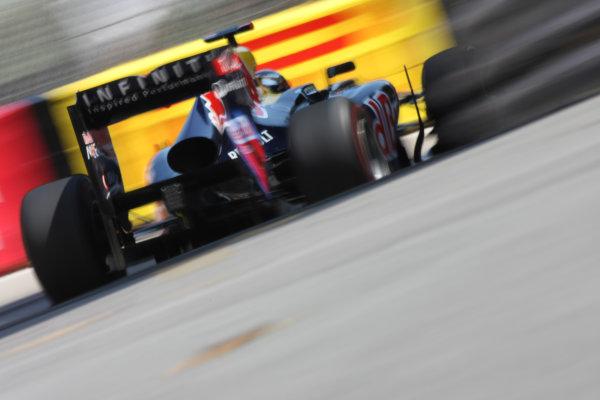 Monte Carlo, Monaco26th May 2011Sebastian Vettel, Red Bull Racing RB7 Renault. Action. World Copyright: Andy Hone/LAT Photographicref: Digital Image CSD_3608