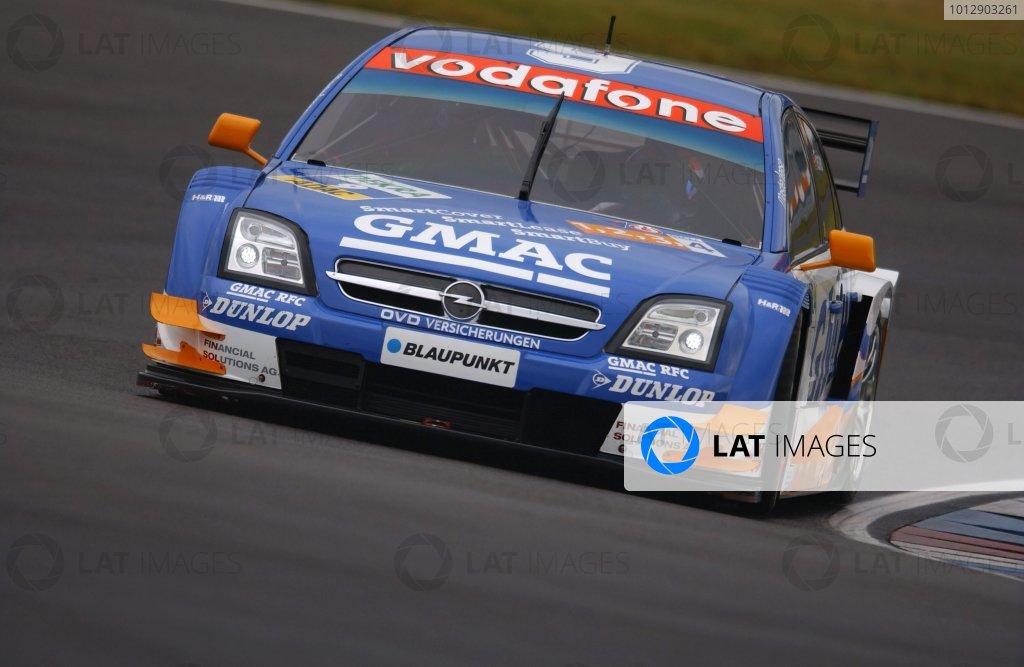 2005 DTM ChampionshipLausitz, Germany. 17th - 18th September 2005Marcel Fassler (Opel Vecrta GTS V8),  action.World Copyright: Andre Irlmeier / LAT Photographicref: Digital Image Only