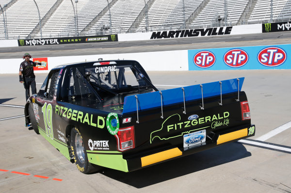 NASCAR Camping World Truck Series  Texas Roadhouse 200 Martinsville Speedway, Martinsville VA USA Friday 27 October 2017 Austin Cindric, Fitzgerald Glider Kits Ford F150 World Copyright: Matthew T. Thacker LAT Images