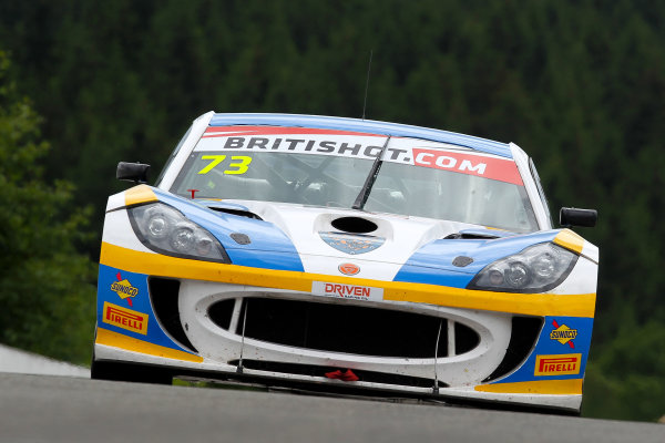 2016 British GT Championship, Spa-Francorchamps, Belgium. 8th - 9th July 2016. Anna Walewska / Nathan Freke Century Motorsport Ginetta G55 GT4. World Copyright: Ebrey / LAT Photographic.