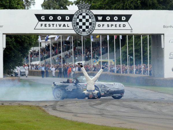2016 Goodwood Festival of Speed Goodwood Estate, West Sussex,England 23rd - 26th June 2016 Terry Grant World Copyright : Jeff Bloxham/LAT Photographic Ref : Digital Image