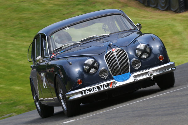 2016 Innes Ireland Cup & 50s Sports Cars inc XK Challenge Oulton Park, Cheshire. 28th May 2016, Andy Wallace / Barry Webb Jaguar Mk2 World copyright. Ebrey/LAT Photograhic