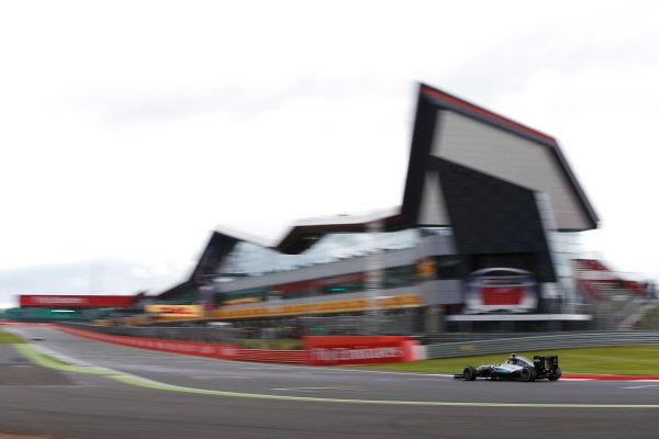 Silverstone, Northamptonshire, UK Friday 08 July 2016. Nico Rosberg, Mercedes F1 W07 Hybrid.  World Copyright: Andrew Ferraro/LAT Photographic ref: Digital Image _FER9291