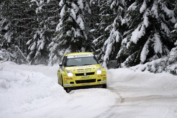 2007 FIA World Rally ChampionshipRound 3Rally of Norway 200715th - 18th February 2007PG Andersson, Suzuki, Action.Worldwide Copyright: McKlein/LAT
