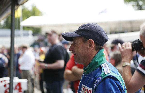 2015 Goodwood Festival of Speed.  Goodwood Estate, West Sussex, England. 25th - 28th June 2015.  Roberto Moreno.  Ref: KW5_3599a. World copyright: Kevin Wood/LAT Photographic