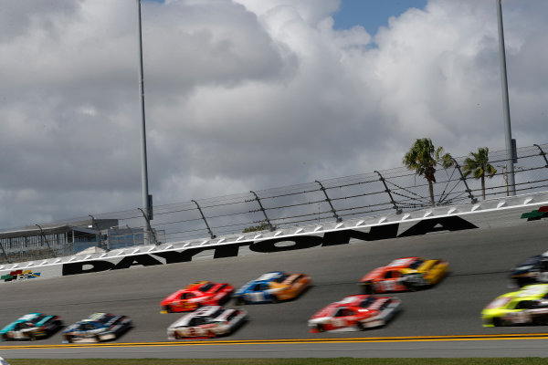 2017 Xfinity - Powershares QQQ 300 Daytona International Speedway, Daytona Beach, FL USA Friday 24 February 2017 Daytona sign World Copyright: Michael L. Levitt/LAT Images ref: Digital Image levitt-0217-D500_22982