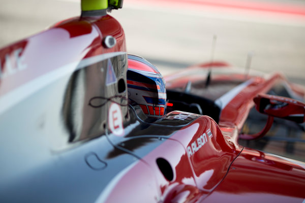 Circuit de Barcelona Catalunya, Barcelona, Spain. Wednesday 15 March 2017. Alexander Albon (THA, ART Grand Prix). Photo: Alastair Staley/FIA Formula 2 ref: Digital Image 585A0278