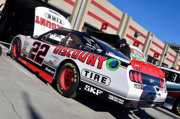 2017 NASCAR XFINITY Series - Rinnai 250 Atlanta Motor Speedway, Hampton, GA USA Friday 3 March 2017 Joey Logano World Copyright: Nigel Kinrade/LAT Images ref: Digital Image 17ATL1nk00898