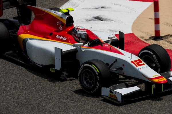 2017 FIA Formula 2 Round 1. Bahrain International Circuit, Sakhir, Bahrain.  Friday 14 April 2017. Stefano Coletti (MON, Campos Racing)  Photo: Zak Mauger/FIA Formula 2. ref: Digital Image _56I9441
