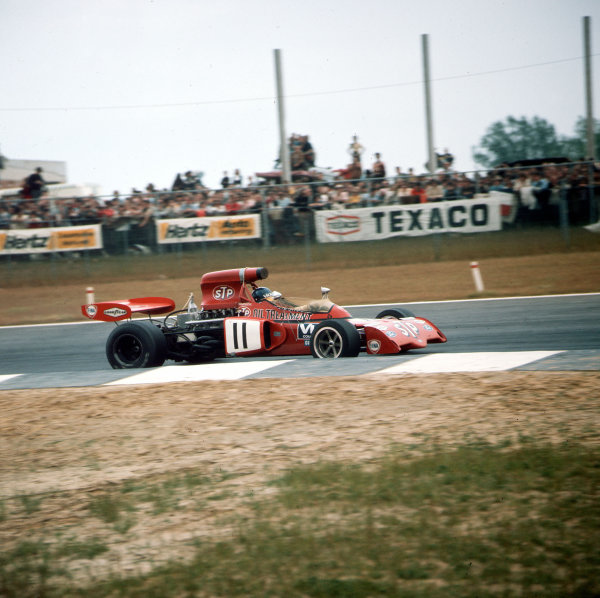 Nivelles-Baulers, Belgium.2-4 June 1972.Ronnie Peterson (March 721X Ford).Ref-3/5054C.World Copyright - LAT Photographic