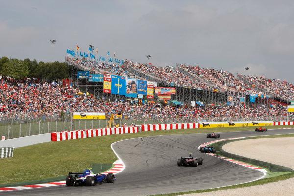 Barcelona, Spain.Sunday Race. 10th May 2009.Race action. World Copyright: Glenn Dunbar / GP2 Series Media Service.Ref: _O9T8156 jpg