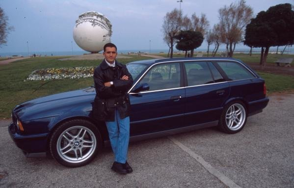 Gianni Morbidelli at home in Pesaro, Italy.Formula One Drivers At Home