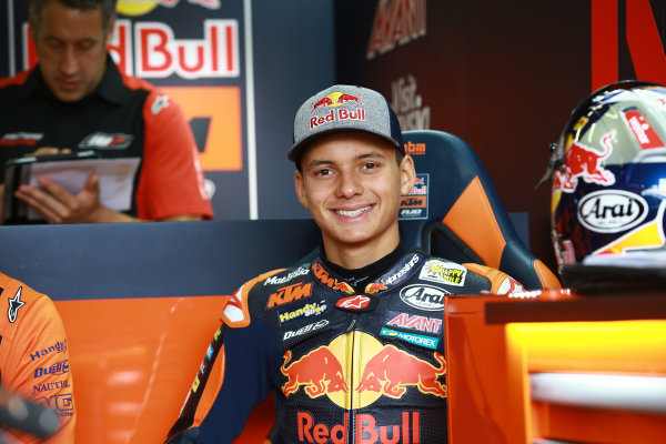 2017 Moto3 Championship  - Round 9 Sachsenring, Germany Friday 30 June 2017 Bo Bendsneyder, Red Bull KTM Ajo World Copyright: David Goldman/LAT Images ref: Digital Image 681039