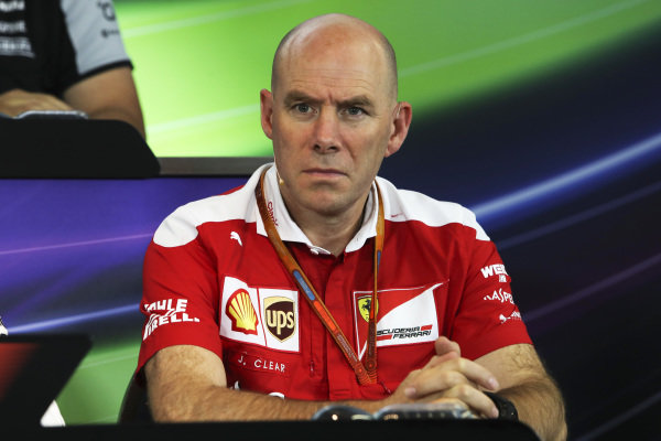 Jock Clear (GBR) Ferrari Chief Engineer in the Press Conference at Formula One World Championship, Rd12, German Grand Prix, Practice, Hockenheim, Germany, Friday 29 July 2016.