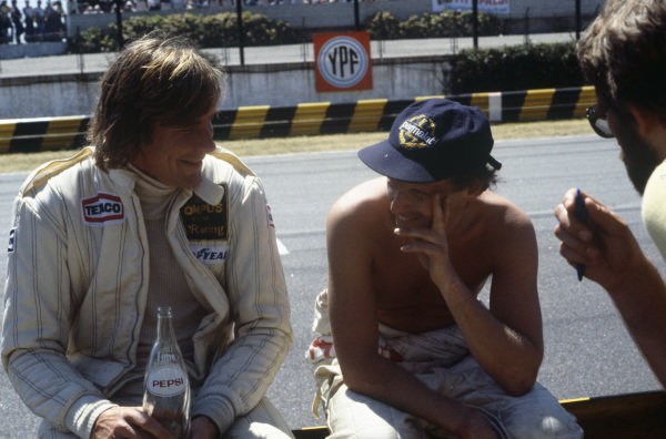 James Hunt and Niki Lauda.