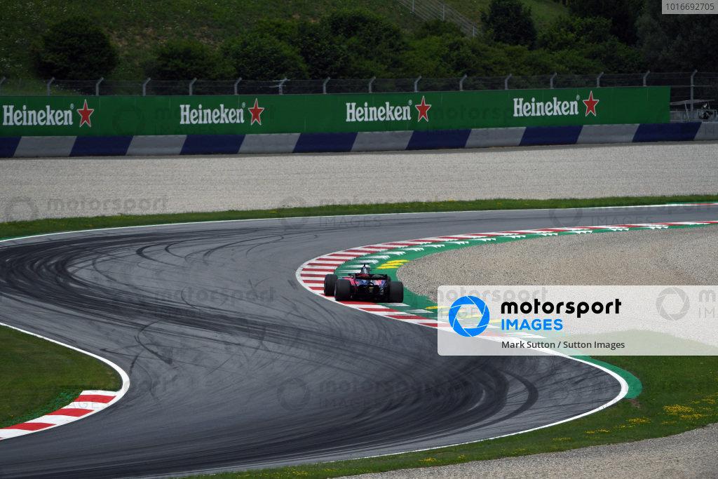 Daniil Kvyat (RUS) Scuderia Toro Rosso STR12 at Formula One World Championship, Rd9, Austrian Grand Prix, Qualifying, Spielberg, Austria, Saturday 8 July 2017.