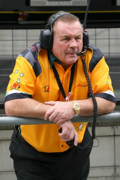 Alan Jones (AUS), Seat Holder of A1 Team Australia.A1GP, Rd9 Practice, Shanghai, China, 11 April 2008.