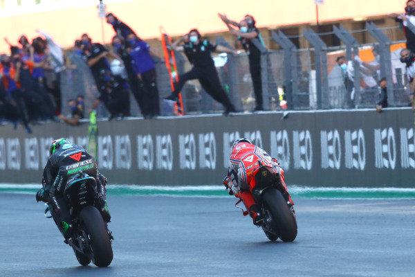 Franco Morbidelli, Petronas Yamaha SRT, Jack Miller, Pramac Racing.