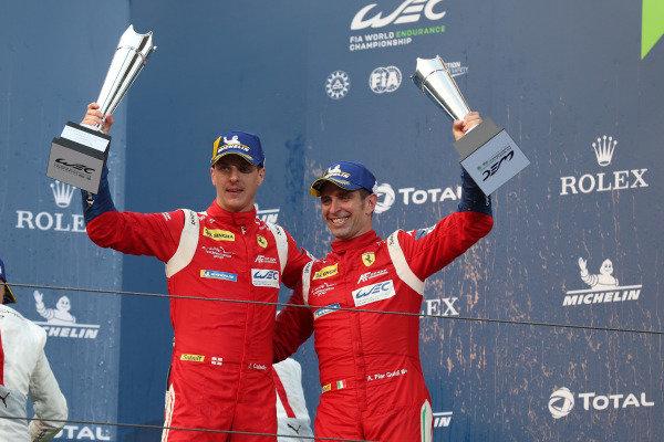 #51 AF Corse Ferrari 488 GTE EVO: Alessandro Pier Guidi, James Calado