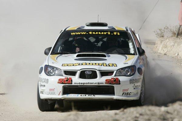 2006 FIA World Rally Champs. Round Three; Rally Mexico.; 2nd - 5th March 2006.Jari-Matti Latvala, Subaru PWRC, action World Copyright: LAT/McKlein