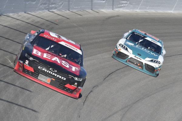 #2: Tyler Reddick, Richard Childress Racing, Chevrolet Camaro TAME the BEAST, #19: Brandon Jones, Joe Gibbs Racing, Toyota Supra Flow