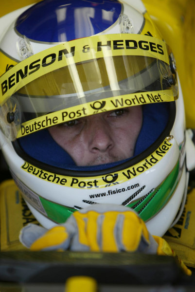 2002 Japanese Grand Prix.Suzuka, Japan. 11-13 October 2002.Giancarlo Fisichella (Jordan Honda).World Copyright - LAT Photographicref: Digital File Only