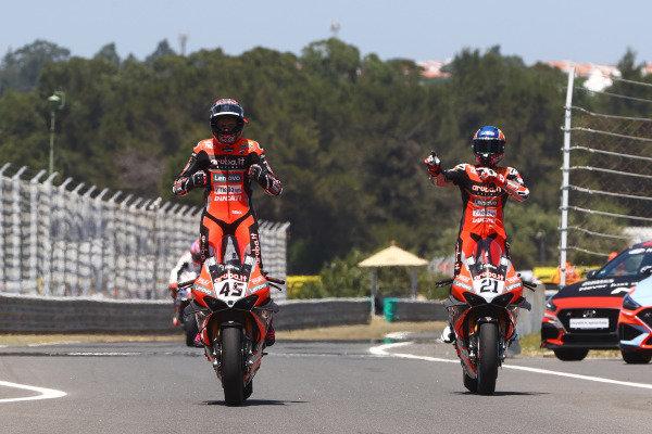 Scott Redding, Aruba.It Racing - Ducati, Michael Ruben Rinaldi, Aruba.It Racing - Ducati.