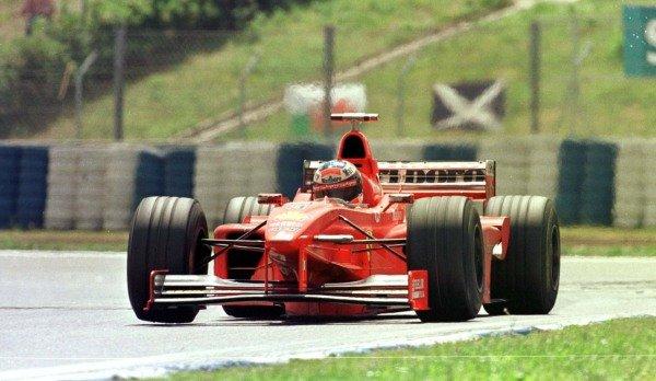 1998 Spanish Grand Prix.Catalunya, Barcelona, Spain.8-10 May 1998.Michael Schumacher (Ferrari F300) 3rd position.World Copyright - LAT Photographic