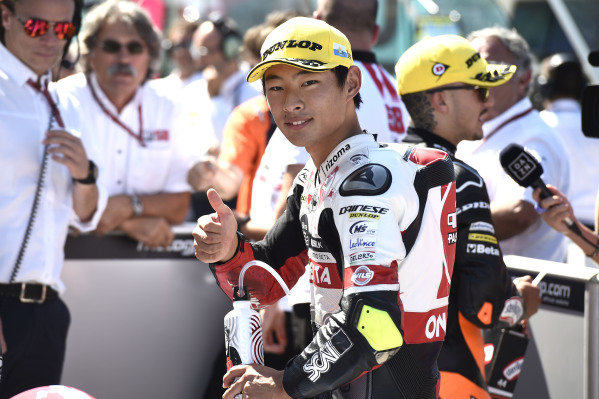 Pole sitter Tatsuki Suzuki, SIC58 Squadra Corse