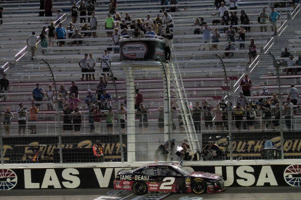 #2: Tyler Reddick, Richard Childress Racing, Chevrolet Camaro TAME the BEAST celebrates his victory