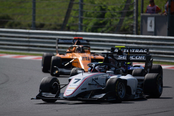 HUNGARORING, HUNGARY - AUGUST 04: Lirim Zendeli (DEU, Sauber Junior Team by Charouz) during the Hungaroring at Hungaroring on August 04, 2019 in Hungaroring, Hungary. (Photo by Joe Portlock / LAT Images / FIA F3 Championship)