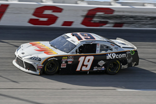 #19: Brandon Jones, Joe Gibbs Racing, Toyota Supra Mojo Outdoor/iK9