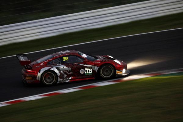 #912 Absolute Racing  Porsche 911 GT3 R: Dirk Werner, Dennis Olsen, Matt Campbell.