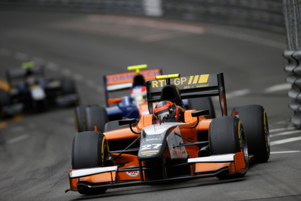 2013 GP2 Series. Round 4.  Monte Carlo, Monaco. 54th May 2013. Saturday Race. Daniel de Jong (NED, MP Motorsport). Action.  World Copyright: Glenn Dunbar/GP2 Series Media Service. Ref: _89P2732