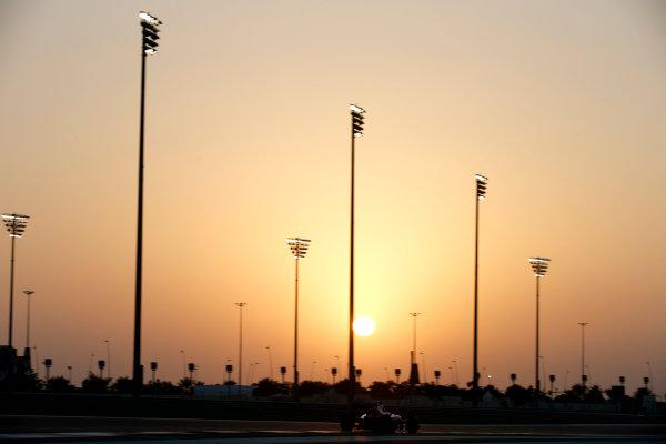 Yas Marina Circuit, Abu Dhabi, United Arab Emirates. Wednesday 26 November 2014. Max Verstappen, Toro Rosso STR9 Renault. World Copyright: Glenn Dunbar/LAT Photographic. ref: Digital Image _W2Q8611