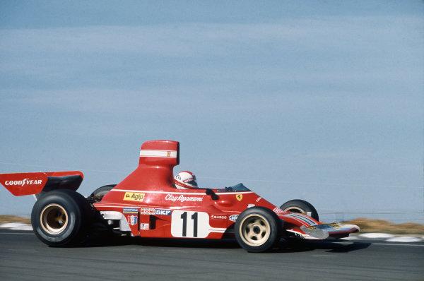 1974 Brazilian Grand Prix  Interlagos, Sao Paulo, Brazil. 25-27th January 1974.  Clay Regazzoni, Ferrari 312B3, 2nd position.  Ref: 74BRA07. World Copyright: LAT Photographic