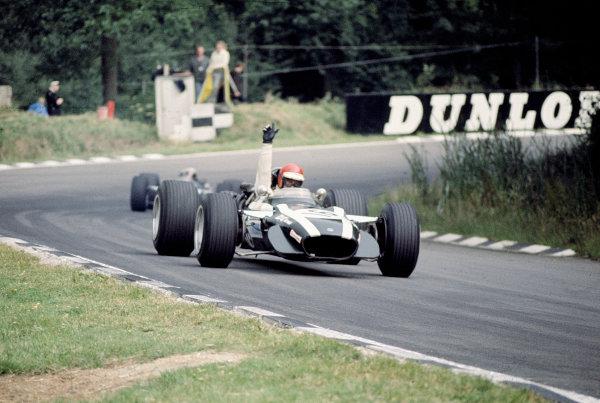 1968 British Grand Prix.Brands Hatch, England.18-20 July 1968.Robin Widdows (Cooper T86B BRM).Ref-68 GB 163.World Copyright - LAT Photographic