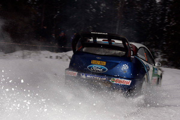 2005 FIA World Rally Champs. Round two Swedish Rally.10th-13th February 2005.Toni Gardemeister, Ford, action.World Copyright: McKlein/LAT