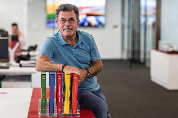 Rainer W. Schlegelmilch poses in the Motorsport Network office in Richmond, United Kingdom. Photo: Eric Gilbert/Motorsport.com