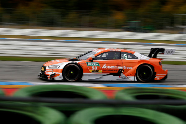 2017 DTM Round 9  Hockenheimring, Germany  Friday 13 October 2017. Jamie Green, Audi Sport Team Rosberg, Audi RS 5 DTM  World Copyright: Alexander Trienitz/LAT Images ref: Digital Image 2017-DTM-HH2-AT2-0341