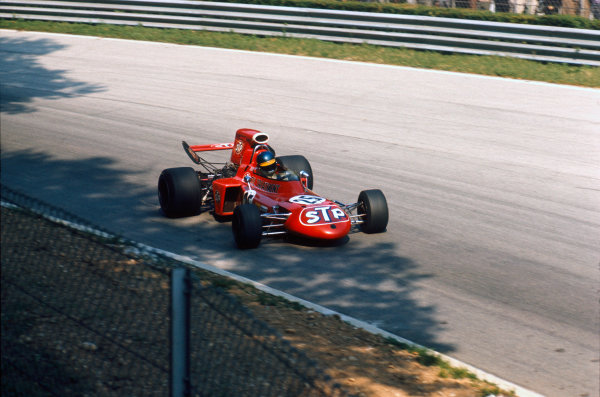 Monza, Italy. 3 - 5 September 1971.Ronnie Peterson (March 711-Ford), 2nd position. 