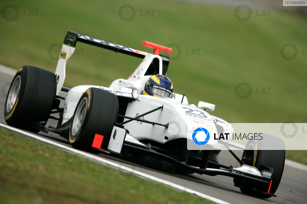 Round 5. Nurburgring, Germany. 22nd July 2011.Friday First Practice.Tom Dillmann, (FRA, Addax Team). Action. Photo: Drew Gibson/GP3 Media Service.  ref: Digital Image _Y2Z4106