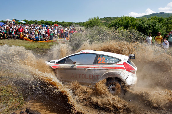 Round 07 Acropolis Rally. 16th - 19th June 2011.Ott Tanak, , Ford SWRC, Action.Worldwide Copyright: McKlein/LAT