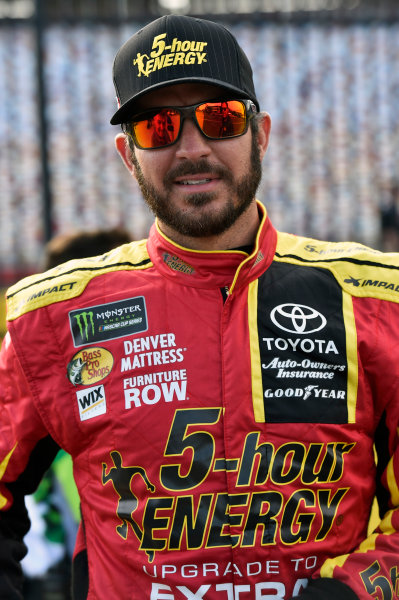 Monster Energy NASCAR Cup Series Monster Energy NASCAR All-Star Race Charlotte Motor Speedway, Concord, NC USA Friday 19 May 2017 Martin Truex Jr, Furniture Row Racing, 5-hour Energy Extra Strength Toyota Camry World Copyright: Nigel Kinrade LAT Images ref: Digital Image 17CLT1nk03059