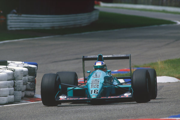 Hockenheim, Germany. 22nd - 24th July 1988. Ivan Capelli (March 881-Judd), 5th position, action.  World Copyright: LAT Photographic. Ref: CC